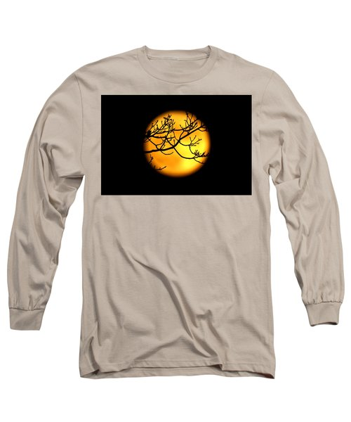 Moon In The Trees Long Sleeve T-Shirt