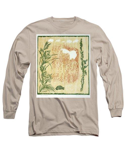 Moon Of Fatness Long Sleeve T-Shirt