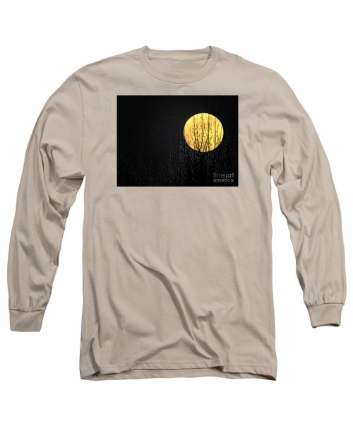 Moon Over The Trees Long Sleeve T-Shirt
