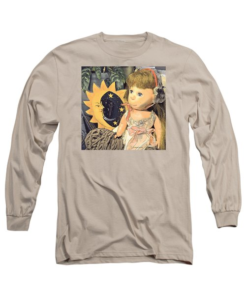 Moon Pearl Long Sleeve T-Shirt