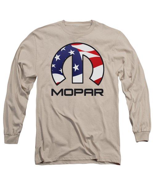 Mopar Usa Long Sleeve T-Shirt