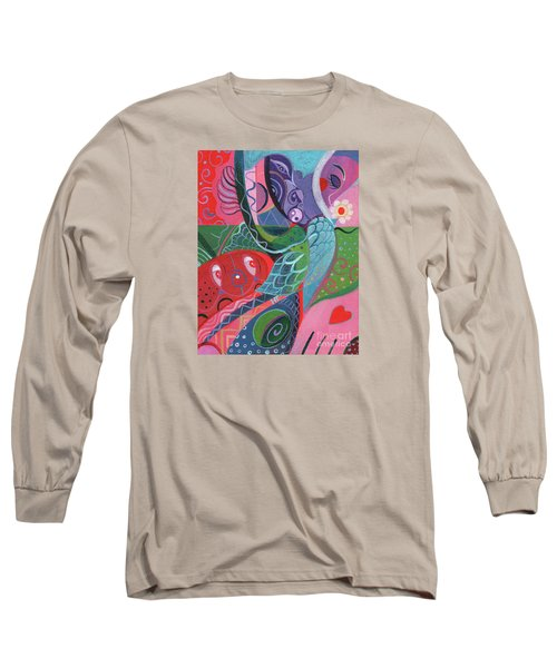 More Love Long Sleeve T-Shirt by Helena Tiainen