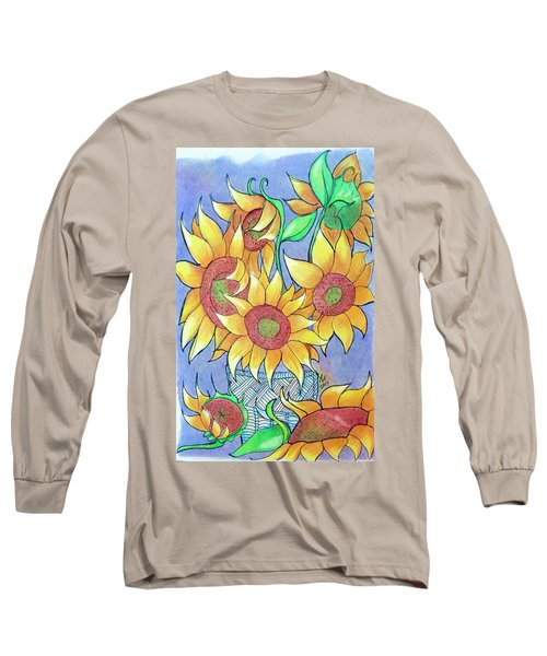 More Sunflowers Long Sleeve T-Shirt