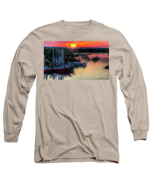 Morning Bliss Long Sleeve T-Shirt by Maddalena McDonald