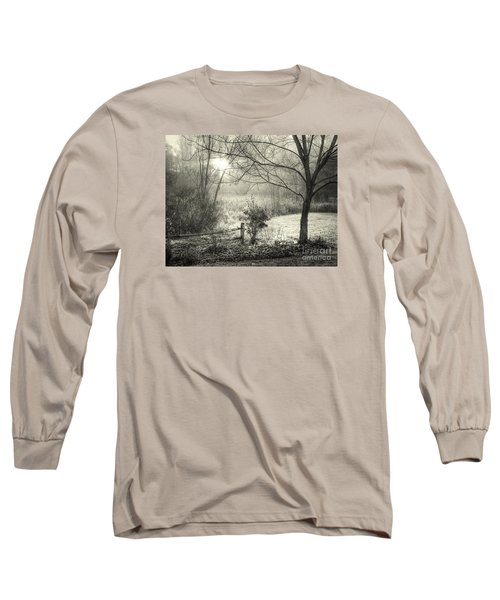 Long Sleeve T-Shirt featuring the photograph Morning Breaking by Betsy Zimmerli