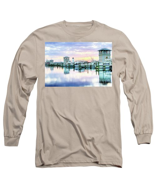 Morning Calm Long Sleeve T-Shirt by Maddalena McDonald