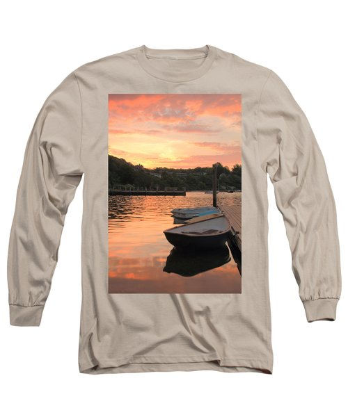Long Sleeve T-Shirt featuring the photograph Morning Calm by Roupen  Baker