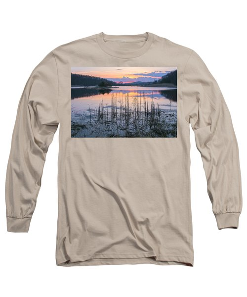 Morning Calmness Long Sleeve T-Shirt by Angelo Marcialis