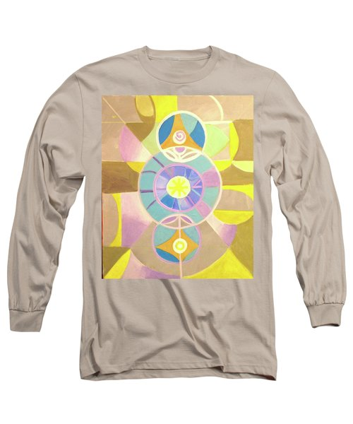 Morning Glory Geometrica Long Sleeve T-Shirt