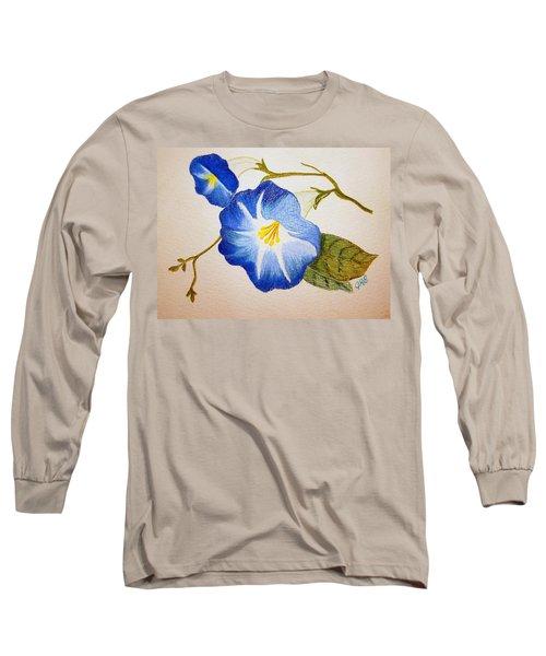 Morning Glory Long Sleeve T-Shirt by J R Seymour