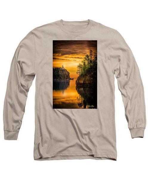 Morning Glow Against The Light Long Sleeve T-Shirt by Rikk Flohr