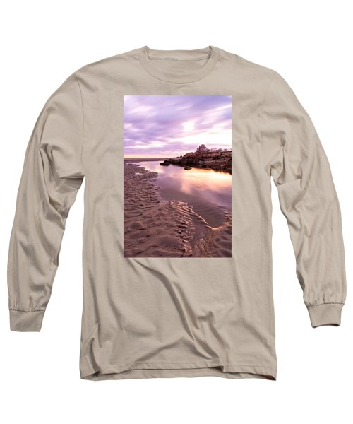 Morning Glow Good Harbor Long Sleeve T-Shirt