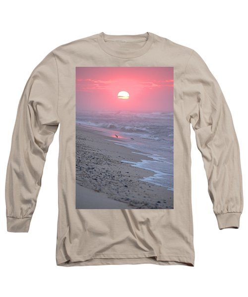 Long Sleeve T-Shirt featuring the photograph Morning Haze by  Newwwman