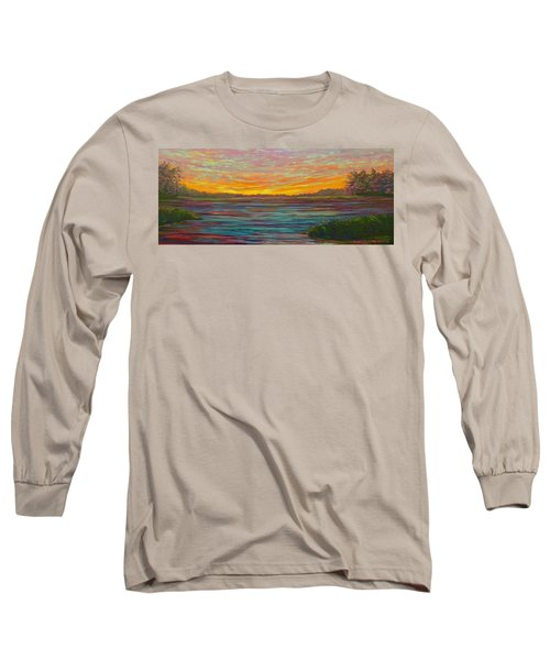 Southern Sunrise Long Sleeve T-Shirt by Jeanette Jarmon