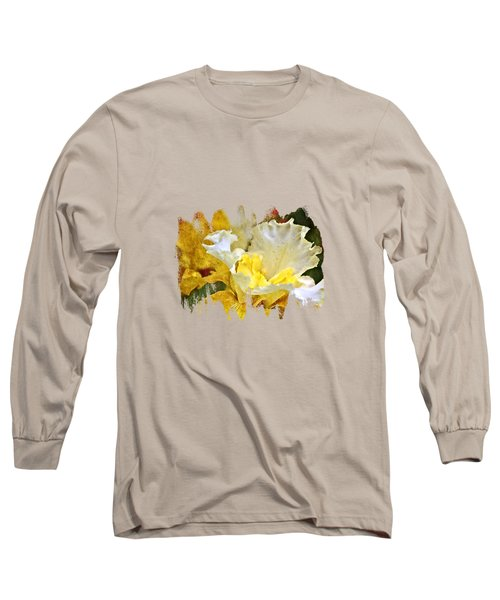 Morning Iris Long Sleeve T-Shirt by Thom Zehrfeld