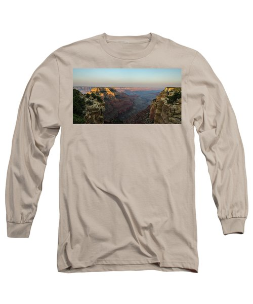 Morning Lights Wotans Throne Long Sleeve T-Shirt