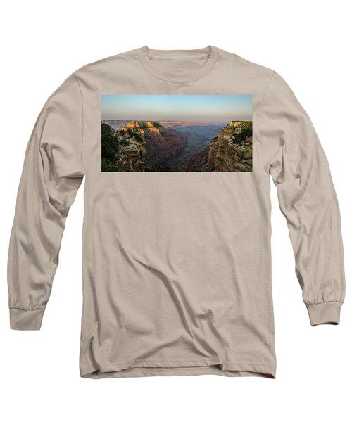 Morning Lights Wotans Throne Long Sleeve T-Shirt