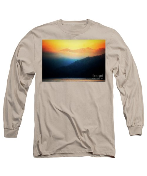 Morning Mist Catalina Island California Usa Long Sleeve T-Shirt