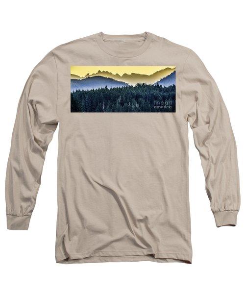 Morning Mountains Long Sleeve T-Shirt
