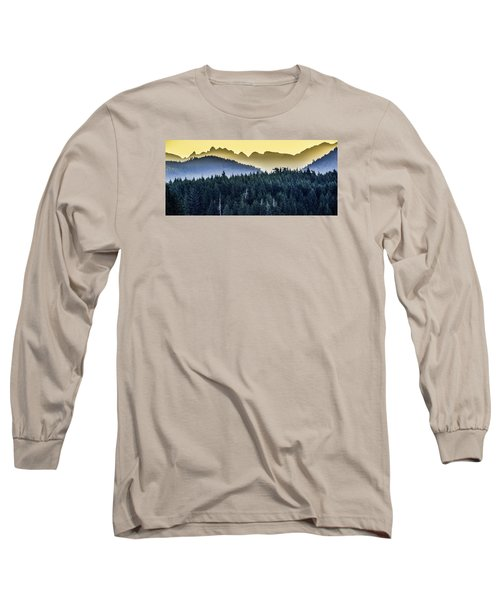 Morning Mountains Long Sleeve T-Shirt