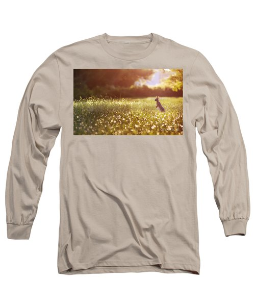 Morning Rabbit Long Sleeve T-Shirt