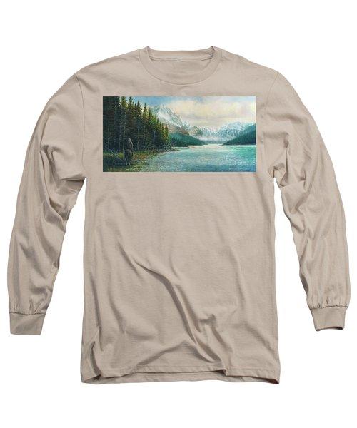Morning Ride Long Sleeve T-Shirt by Douglas Castleman