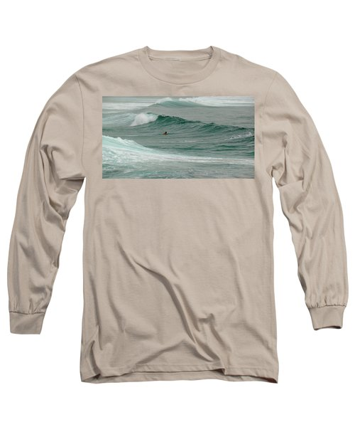 Morning Ride Long Sleeve T-Shirt by Evelyn Tambour