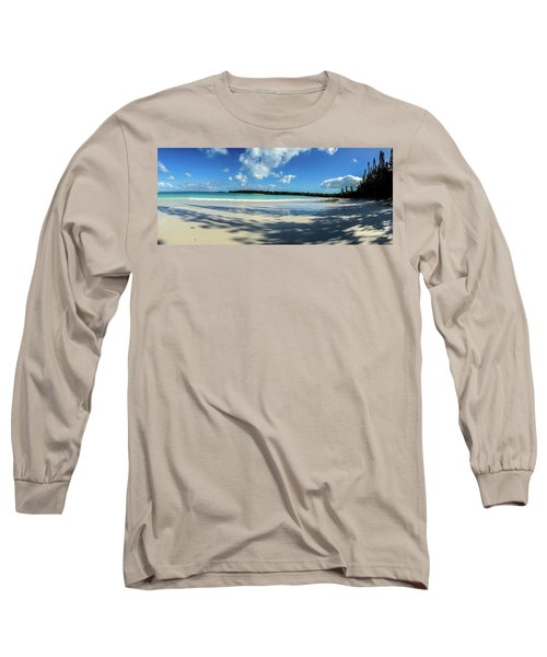 Morning Shadows Ile Des Pins Long Sleeve T-Shirt