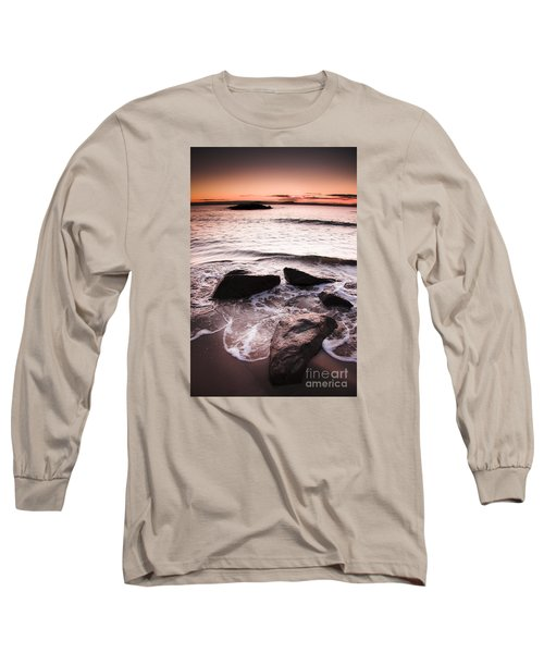 Long Sleeve T-Shirt featuring the photograph Morning Tide by Jorgo Photography - Wall Art Gallery