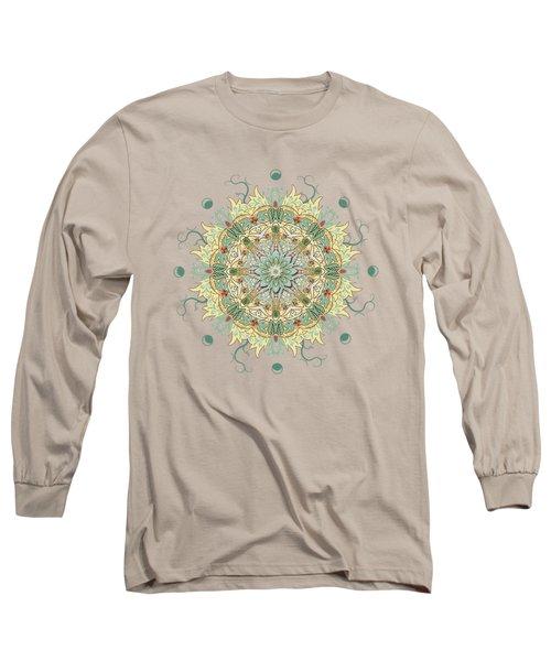 Morris Artful Garden Mandala Long Sleeve T-Shirt