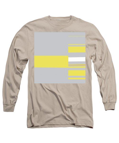 Mosaic Single 1 - Minimalist Abstract Long Sleeve T-Shirt