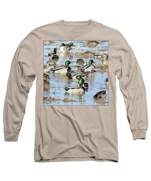 Mostly Mallards Long Sleeve T-Shirt