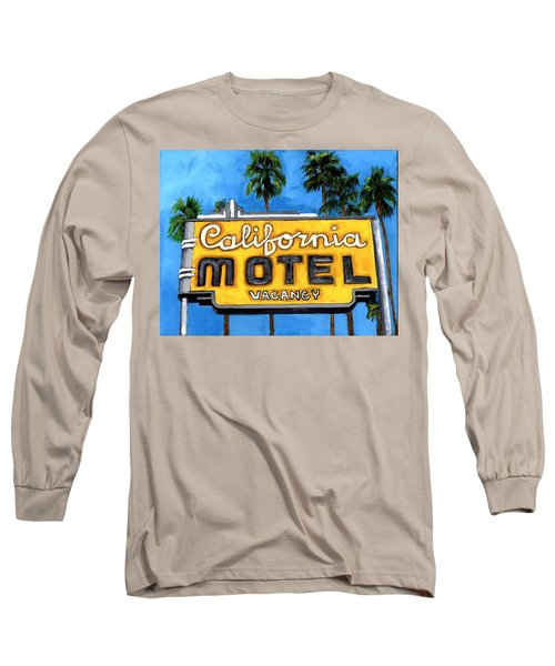 Motel California Long Sleeve T-Shirt