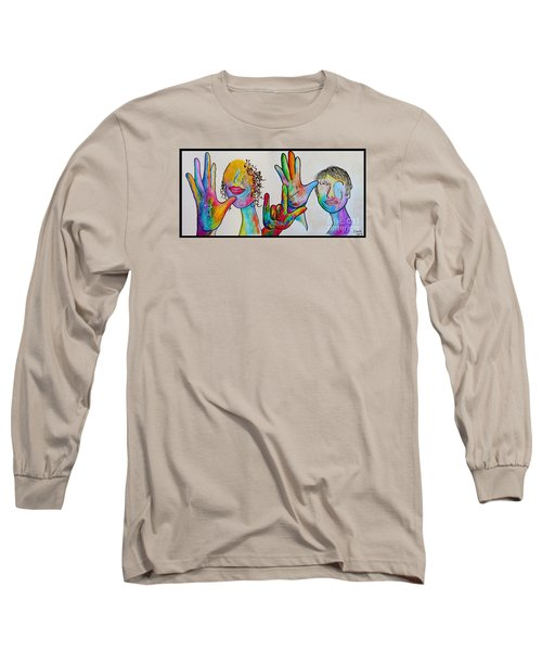 Mother And Father I Love You Long Sleeve T-Shirt