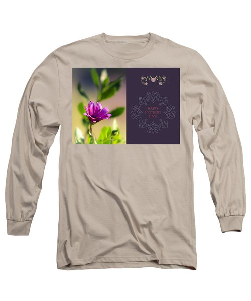 Mother's Day Flower Long Sleeve T-Shirt