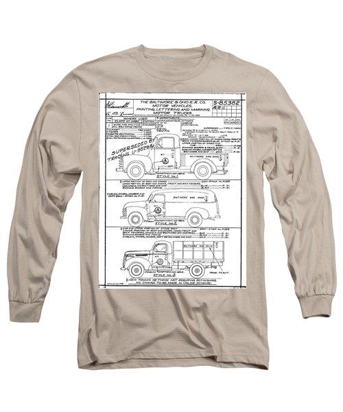 Motor Vehicles Long Sleeve T-Shirt