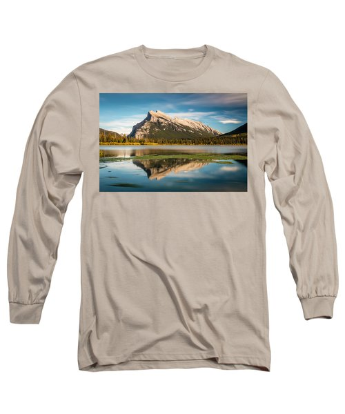 Mount Rundle Banff Long Sleeve T-Shirt