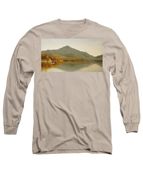Mount Whiteface From Lake Placid Long Sleeve T-Shirt