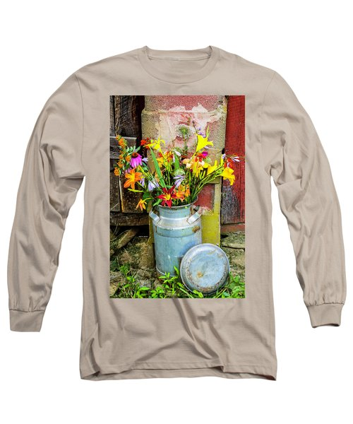 Mountain Bouquet Long Sleeve T-Shirt