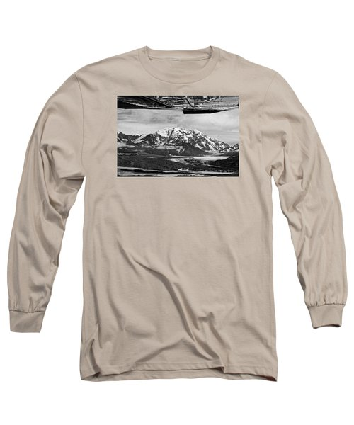 Mountain Flying Alaska Long Sleeve T-Shirt