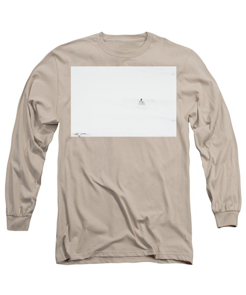 Mountain Hare Small In Frame Right Long Sleeve T-Shirt