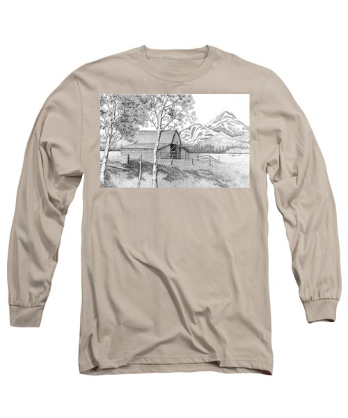 Mountain Pastoral Long Sleeve T-Shirt
