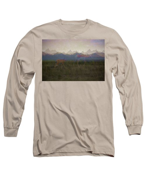 Mountain Pronghorns Long Sleeve T-Shirt