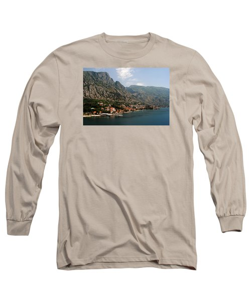 Long Sleeve T-Shirt featuring the photograph Mountains Of Montenegro by Robert Moss