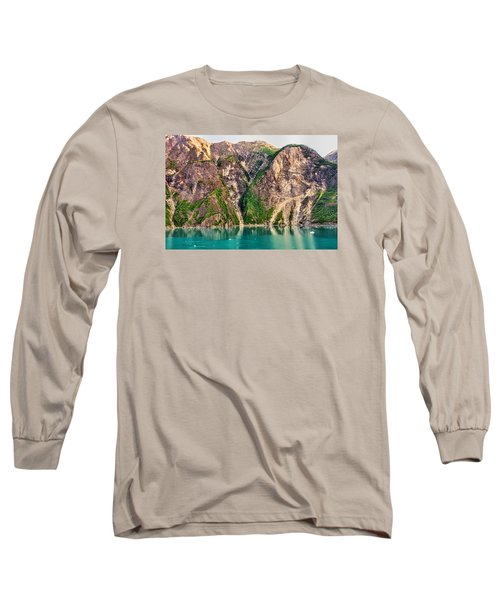 Mountains Of The Fjord Long Sleeve T-Shirt by Lewis Mann