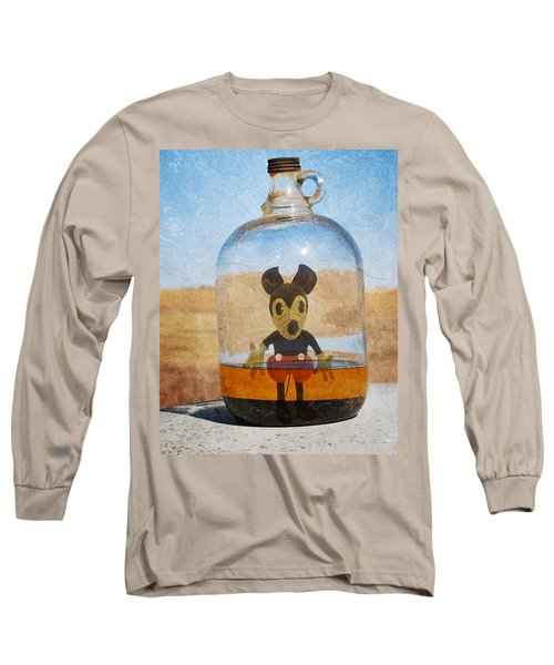Mouse In A Bottle  Long Sleeve T-Shirt