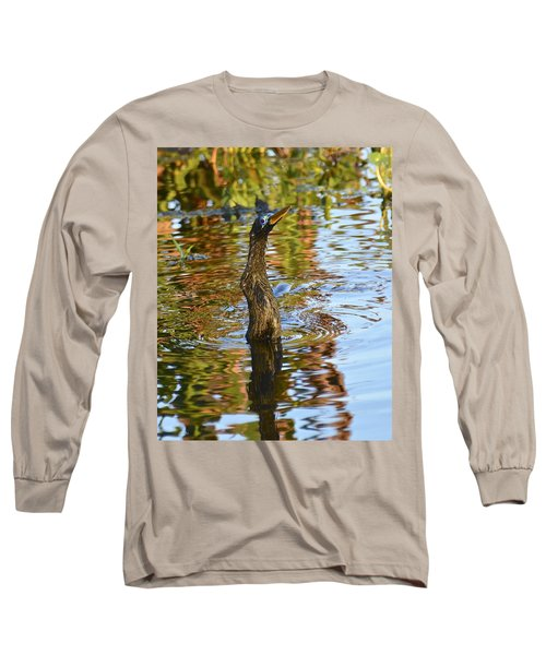 Moving On Down Long Sleeve T-Shirt by Carol Bradley