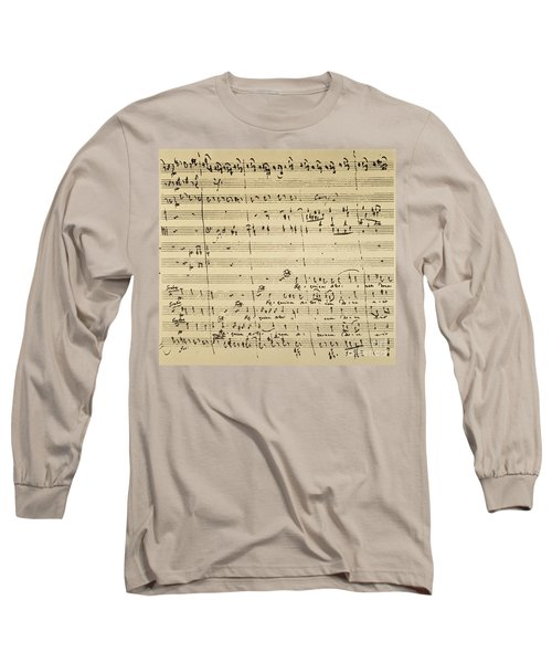 Mozart: Requiem Excerpt Long Sleeve T-Shirt