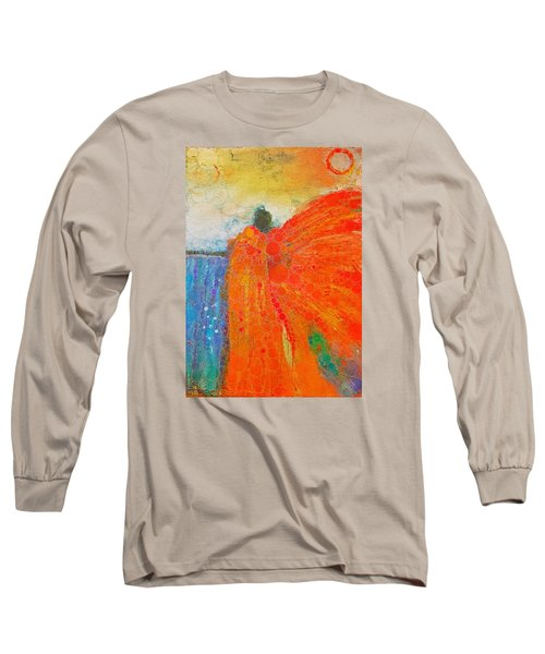 Mprints - Angel Of The Morning Long Sleeve T-Shirt by M Stuart
