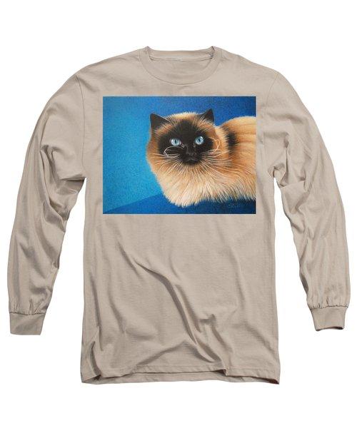 Mr. Blue Long Sleeve T-Shirt